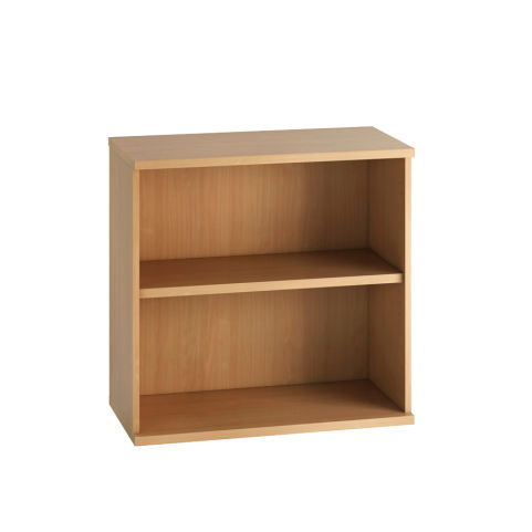 Cecile Low Bookcase - Beech