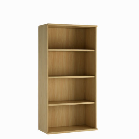 Cecile Mid Height Bookcase - Oak
