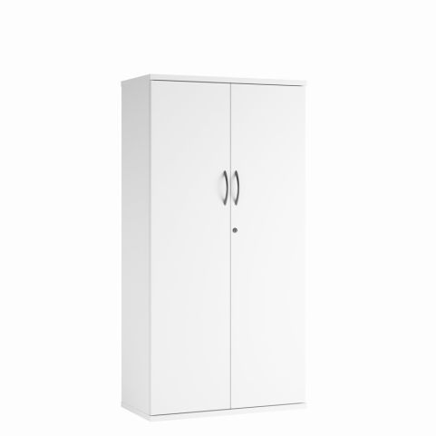 Cecile Mid Height Cupboard - White