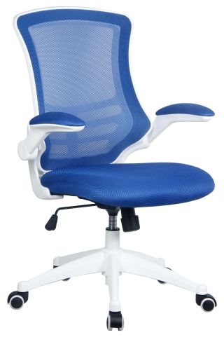 Medway Mesh Chair Blue & White