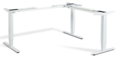 Rapid Corner Height Adjustable Frame - White