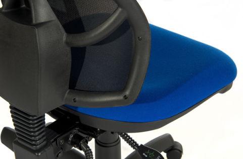 Ergo Star Mesh Chair Detail View