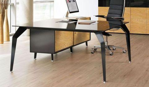 Acti Executive Desk And Credenza Mood Shot