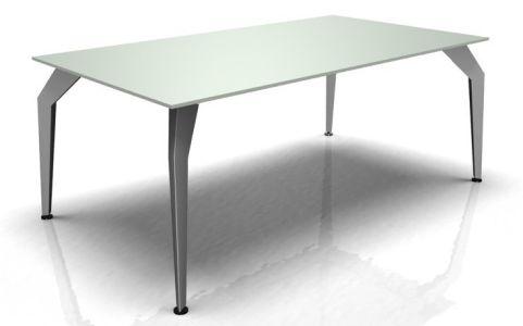 Octavia Desk - Glass Top