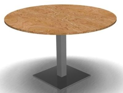 Octavian Round Meeting Table - Olive