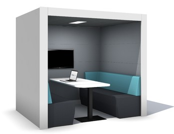internal office pods. Harbour Team Booth Internal Office Pods