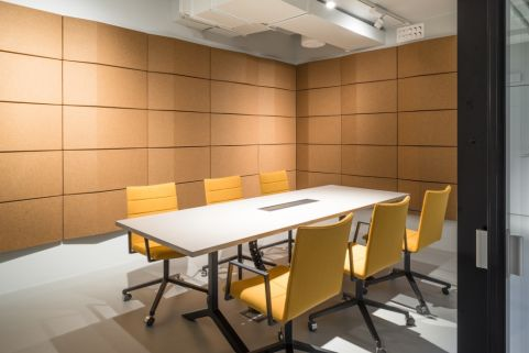 Triline Wall Panel Office Reality