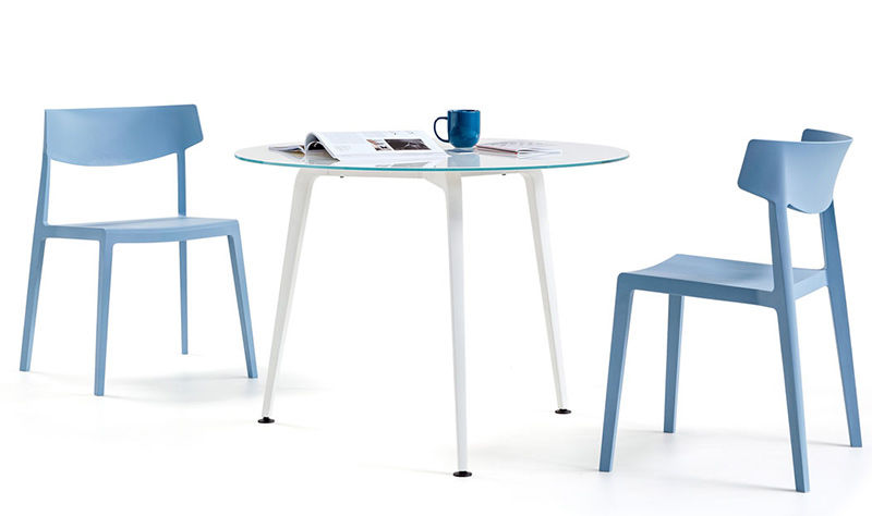 Elica Round Meeting Table Chairs