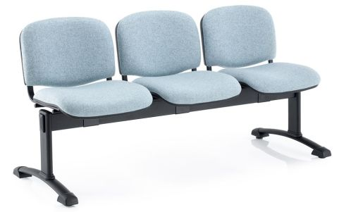 Bradstome Three Seater Beam Chair Angle View
