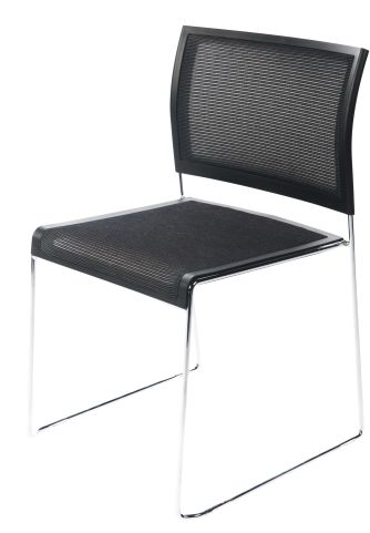 Primo Multi Sckable Mesh Chair Front Angle 2