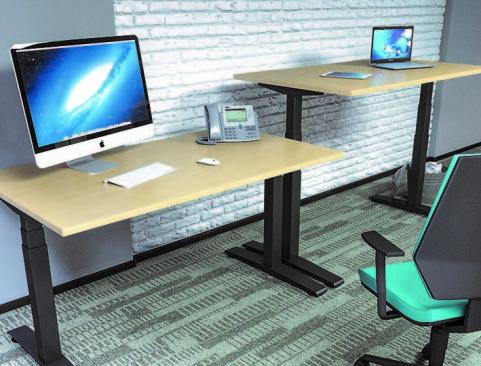 Avalon Plus Height Adjustable Desk