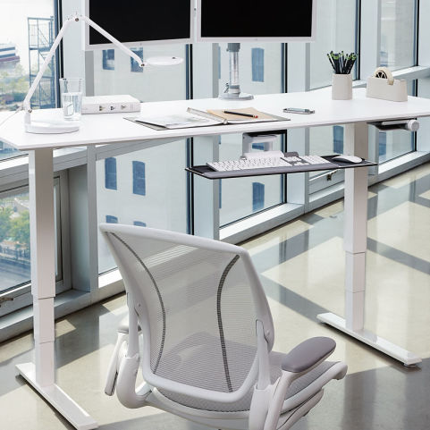 17 Humanscale Float Height Adjustable Table Edit7