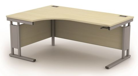 AVALCR02 Avalon Height Adjustable Left Hand Corner Desk, 17 Finishes, Free Installation, 5 Year Warranty