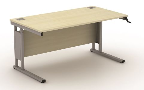 AVALDC02 Avalon Height Adjustable Cantilever Workstation, Free Delivery And Installation, 17 High-quality Finishes