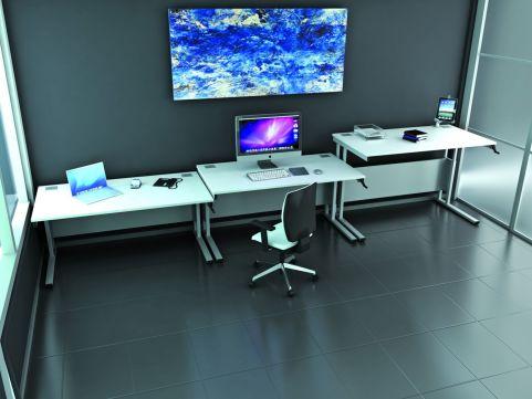 Deep Cantilever Workstation, Height Adjustable