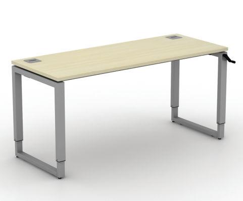 Avalon Height Adjustable Loop Frame Bench Desk 600mm Deep, Free Delivery