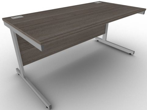 AVALON1 Avalon Anthracite Rectangular Office Desk, 17 Finishes, Free Delivery And Installation