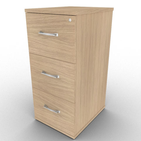 Verade Oak Avalon Wooden Filing Cabinet With Free Delivery And Installation, Available In A Range Of Wood Finishes