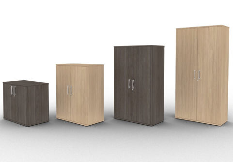 Avalon Wooden Office Cupboards With Lockable Doors A 5 Year Warranty Available In