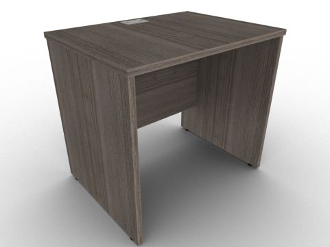 Avalon Anthracite Return Desk With Panel Sides, Two Sizes With 14 Finishes Available, Free Delivery And Installation