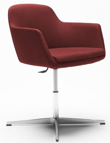 Asterix Tub Chair In Red