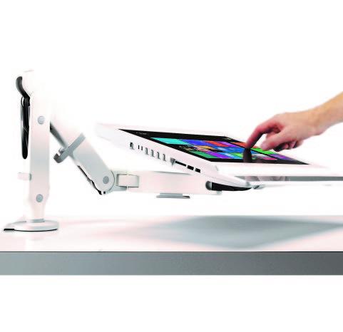 Ollin White Touchscreen