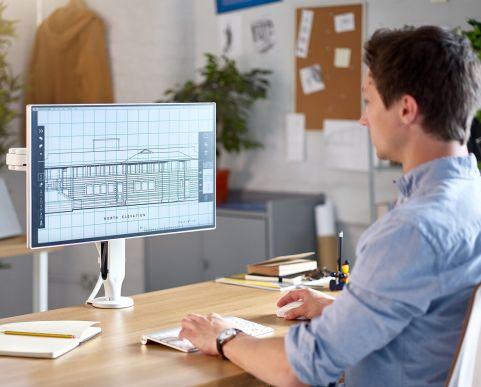 Ollin-Desk-Monitor Arm 2