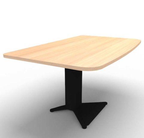 Energie Straight Desk Chestnut Black 1400mm