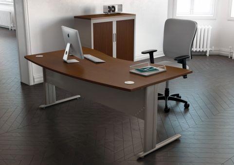 B-office-travailler-bureaux-pied-c1-voile-de-fond-metal-bureau-double-vague-manager-decor-imitation-merisier-aluminium