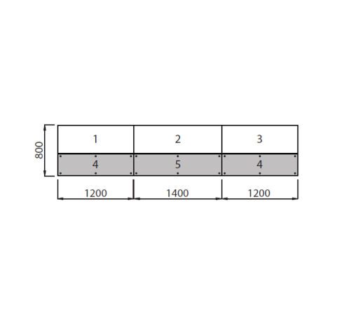 Dimensions Recption Desk