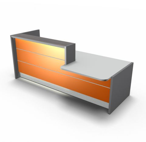 Reception Desk Oange