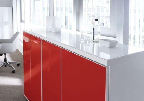 Valde Gloss Storaeg Unit Red