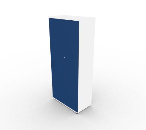 Vale Tall Unit Blue Doors