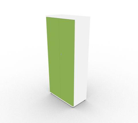 Valde Reception Storage Unit Tall Unit Green