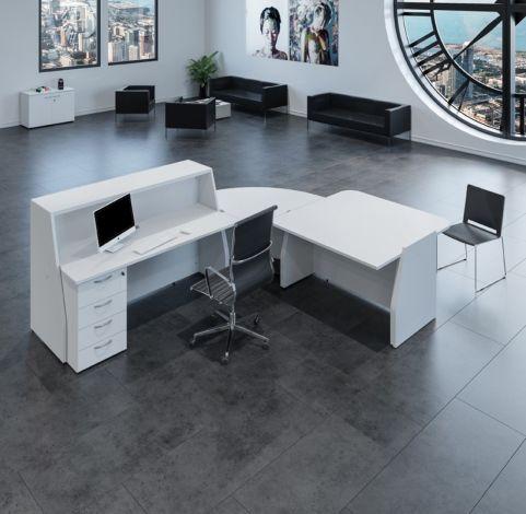 Bienvenue Reception Desk 1 In Grey