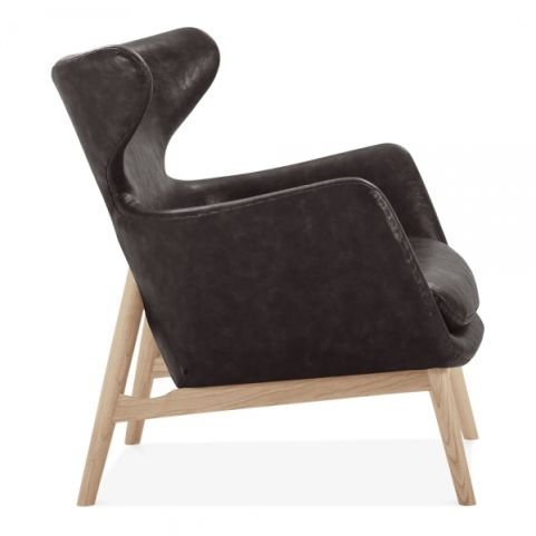 Officereality-winged-armchair-faux-leather-upholstered-brown