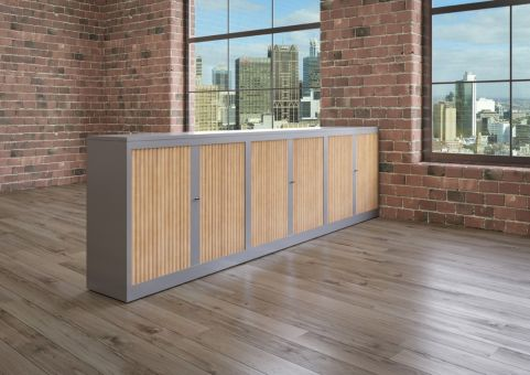 Classif Storage Unit Tambour Cupboard Unit