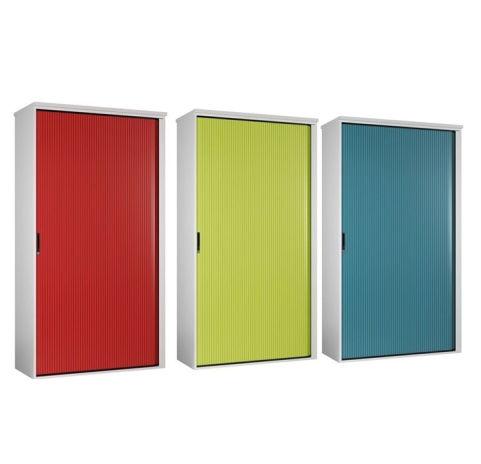 Scope Next Day Tambour Unit Coloured Doors