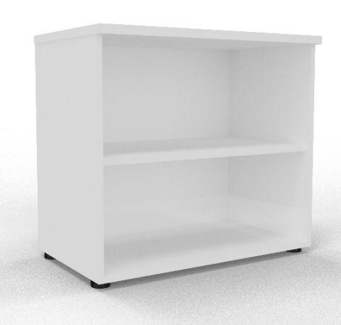 Draycott Wooden Bookcase 800 White