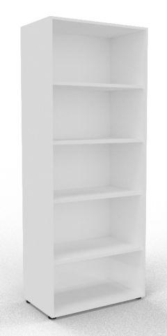 Draycott Wooden Bookcase 2000 White