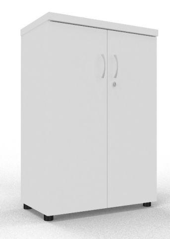 Draycott Wooden Cupboard 1200 White
