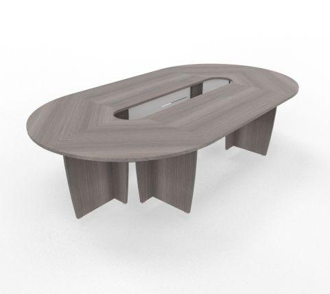 Biarritz Oval Shaped Modular Table Cedar View