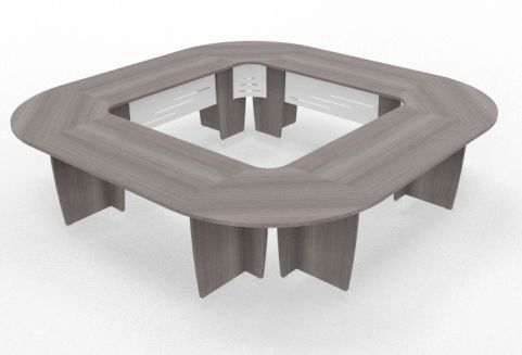 Biarritz Large Square Modular Table Cedar View