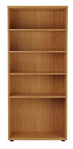 Ziggy Bookcase In Beech Front View