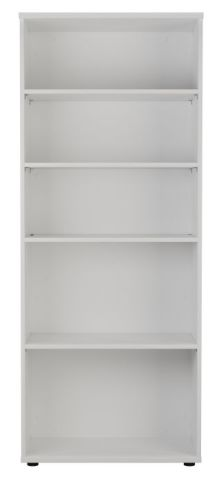 Ziggy Bookcase In White Front View