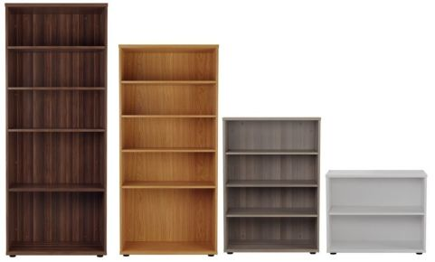 Ziggy Bookcases In Height Order View