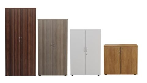 Ziggy Wooden Double Door Cupboard In Height Order Mood View