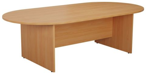Ziggy D End Meeting Table In Beech