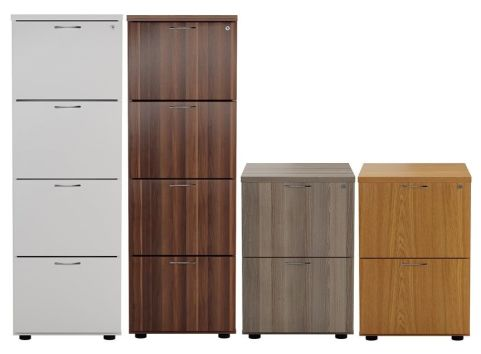 Ziggy Wooden Filing Cabinet In Height Order Mood View