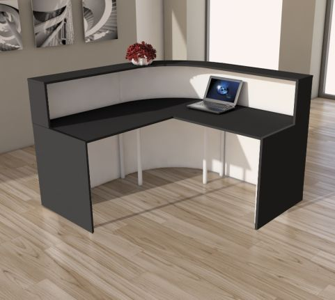 3857-CENTO Reception Desk 2A-rear View